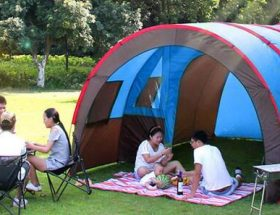 tunnel tent for camping